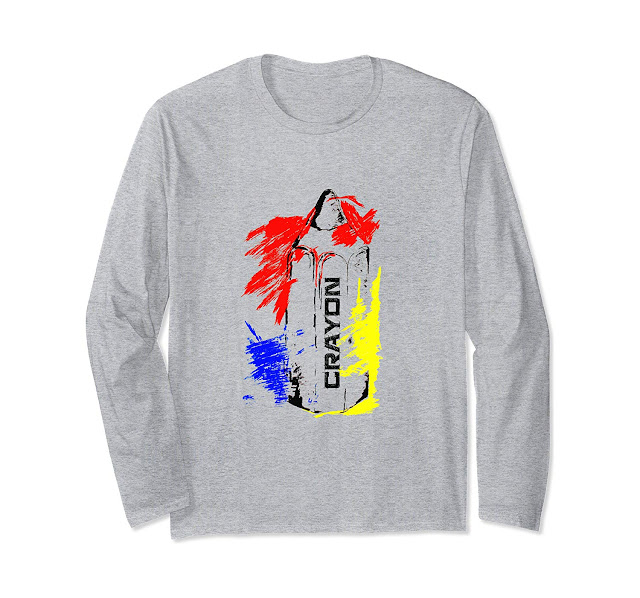 Crayon Unisex Long Sleeve T-Shirt