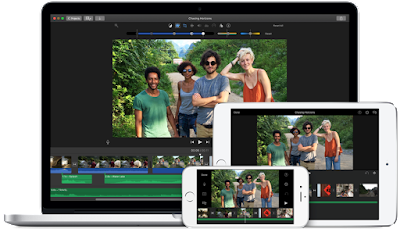 Video editing software Apple iMovie