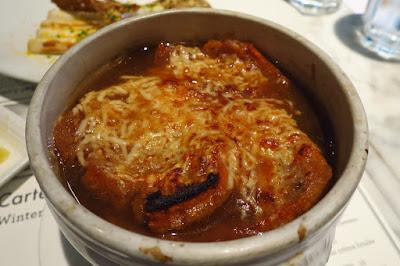 Bistro Du Vin, onion soup