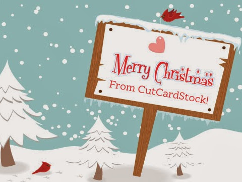 Merry Christmas from CutCardStock and the Design Team!
