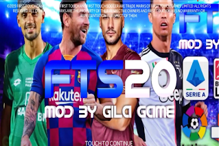 Download FTS 20 Shopee Liga 1 Indonesia & Eropa 2020 Update
