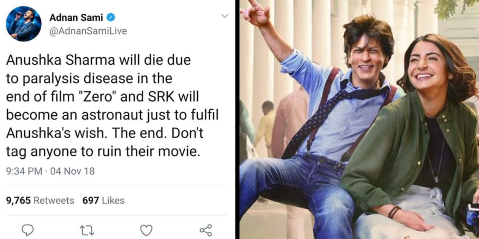 SRK's Zero Climax Leaked: Anushka Sharma Will Die In The End?
