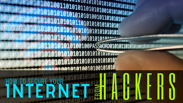 how to secure your internet from hackers