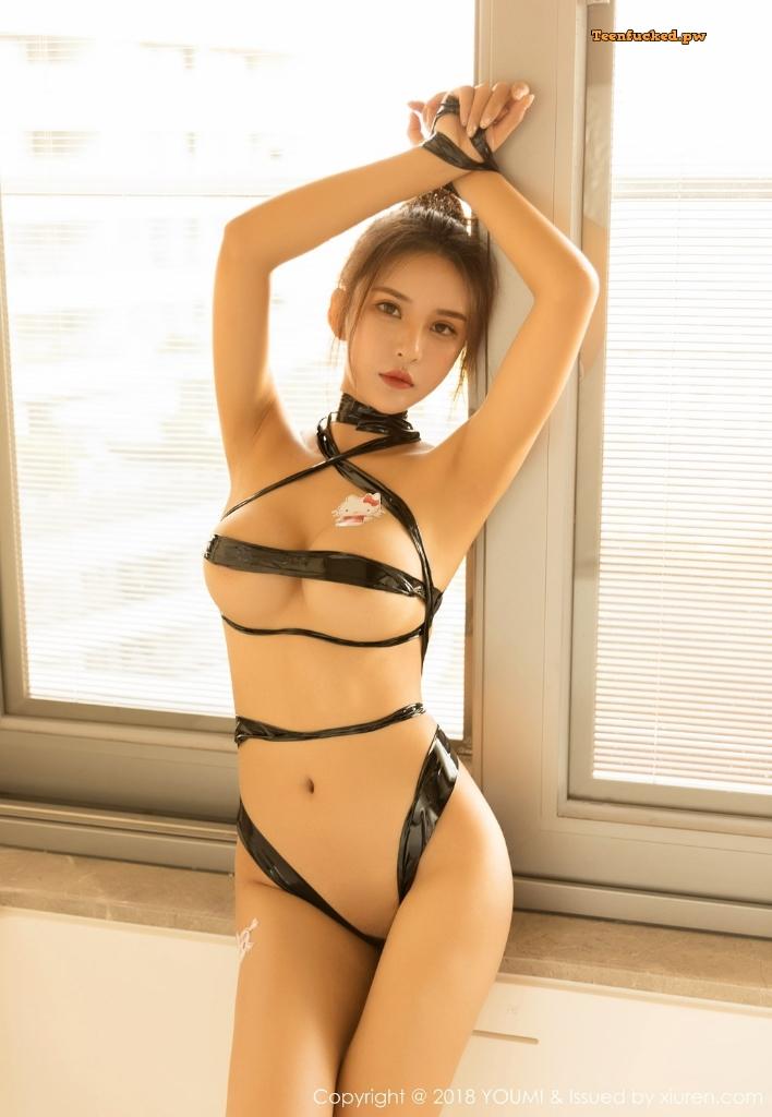 YouMi Vol.224 SOLO MrCong.com 003 wm - YouMi Vol.224: Người mẫu SOLO-尹菲