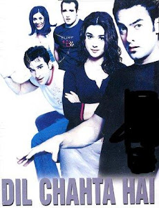 Poster Of Bollywood Movie Dil Chahta Hai (2001) 300MB Compressed Small Size Pc Movie Free Download worldfree4u.com