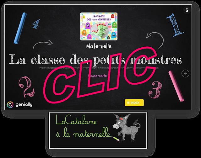 La classe des petits monstres - Genially (LaCatalane)