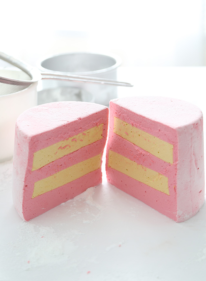 Birthday Cake Slice Marshmallows