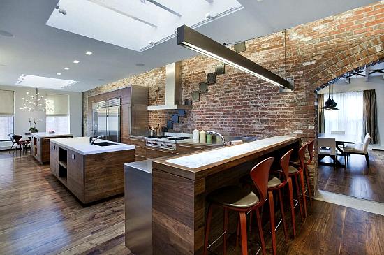 Tribeca Loft Residence By A I Design Corp
