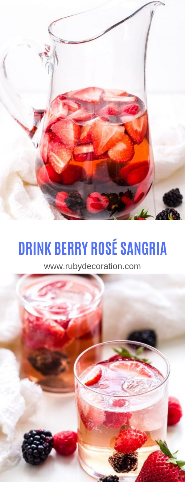 DRINK BERRY ROSÉ SANGRIA
