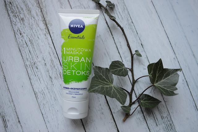 1 minutowa maska Urban Skin detoks NIVEA + Jak dołączyć do Przyjaciółek Nivea