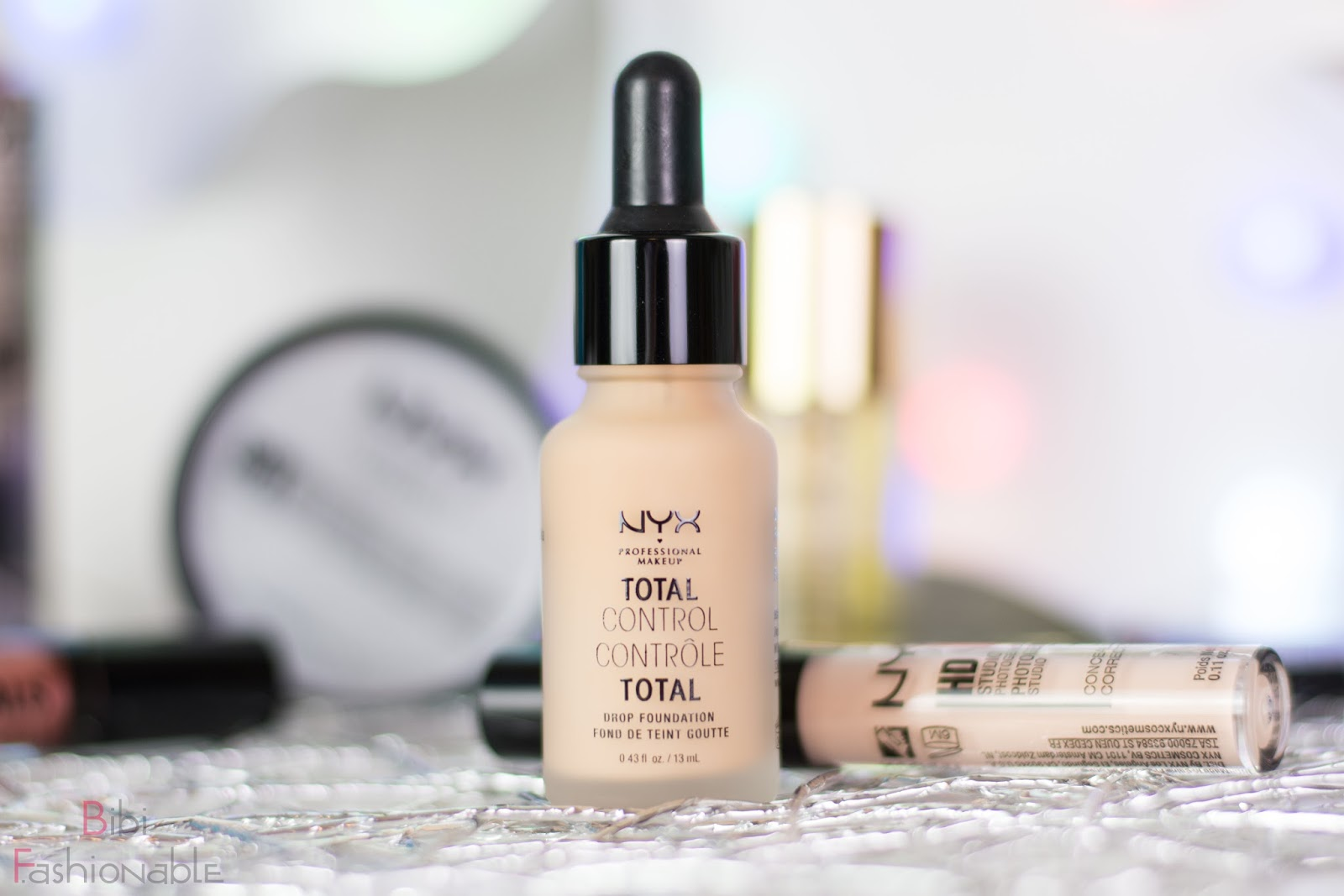NYX Crazyness NYX Total Control Drop Foundation