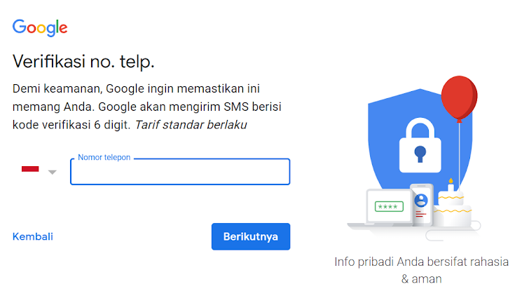 Cara Membuat Akun Gmail Terbaru dan Mudah