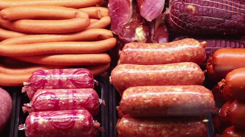 写真:加工肉