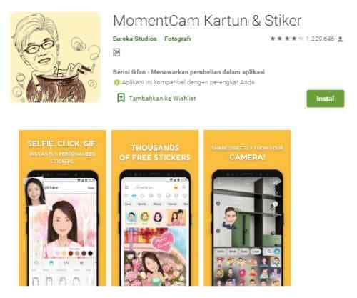 Aplikasi Android & iOS Paling Top Untuk Membuat Kartun Wajah