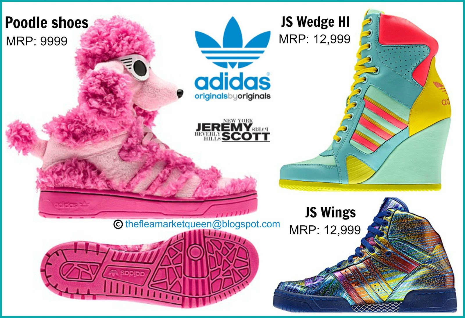 quality design 315e3 d1c1c ADIDAS Jeremy Scott Limited Collection- FLY me CRAZY!