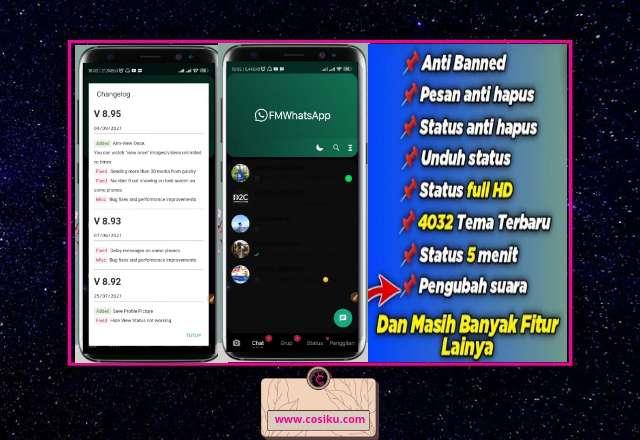 APK Fouad Whatsapp V8.95 Terbaru Fitur Lengkap