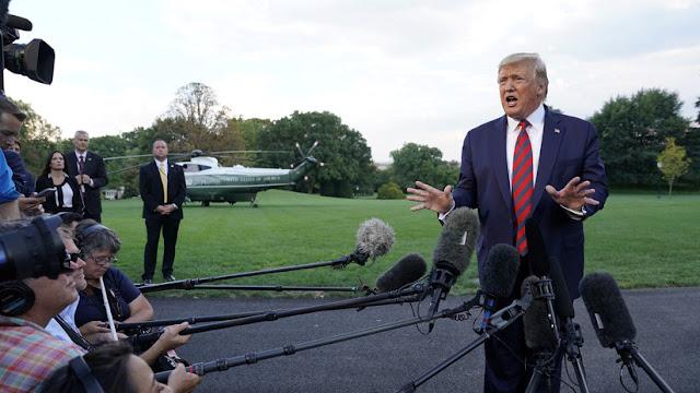 Trump afirma tener al menos 10 candidatos para reemplazar a Bolton