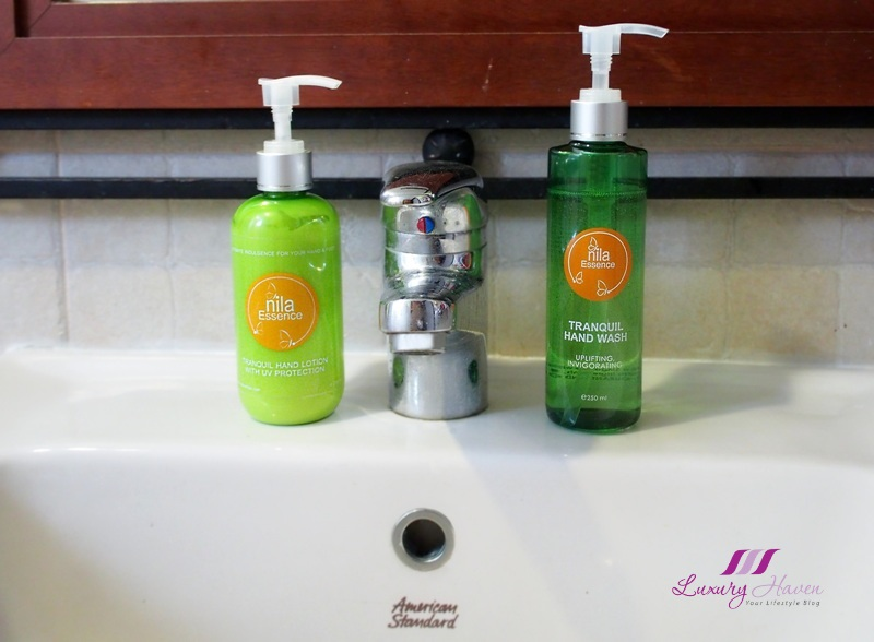 paraben free nila essence hand lotion uv protection