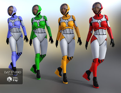 Epsilon Bodysuit for Genesis 3 Female