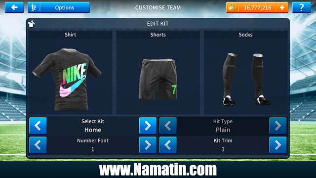 Kaos Dream League Soccer Nike Keren