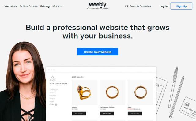 weebly top website builder