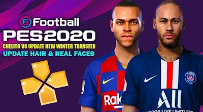 E Football PES 2020 Chelito V8 Camera PS4 Update Winter Transfer
