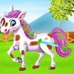 لعبة طفل تايلور والحصان