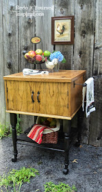 kitchen island from end table
