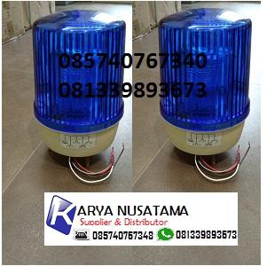 Jual Lampu rotary Patwal Biru 6inch 24V Untuk Mobil di Ciputat