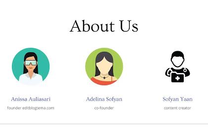 Cara meletakan gambar profile penulis di atas setiap postingan blog