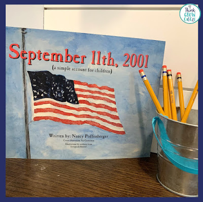 september 11th upper elementary activities