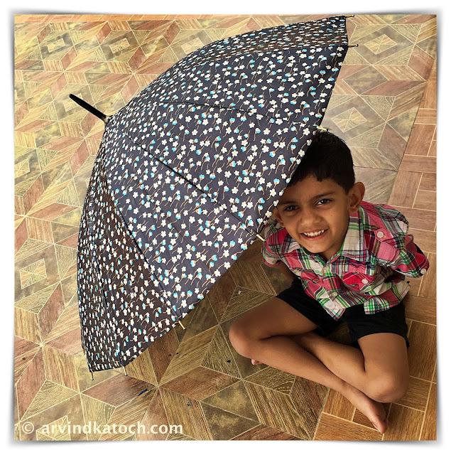 boy, umbrella,