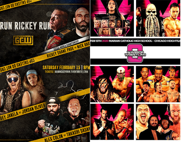 Big Weekend of Indy Wrestling! Preview