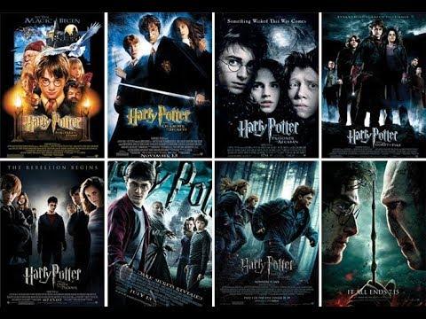 سلسلة افلام هاري بوتر Harry Potter
