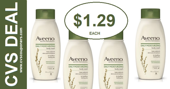 Aveeno Body Wash CVS Deal 915-921