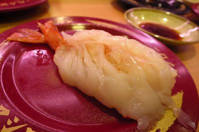 Sushiro, big red shrimp