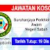 Job Vacancy at Suruhanjaya Perkhidmatan Awam Negeri Sabah (SPANS)