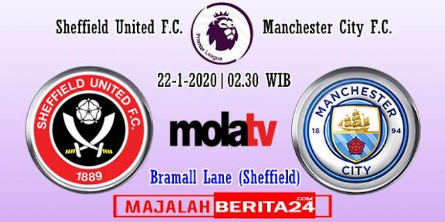 Prediksi Sheffield United vs Manchester City — 22 Januari 2020