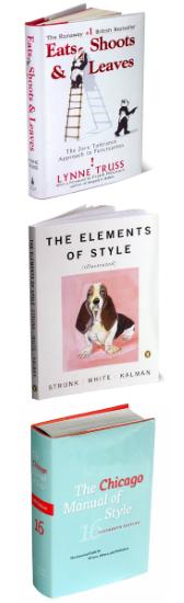 Favorite Grammar & Style Books