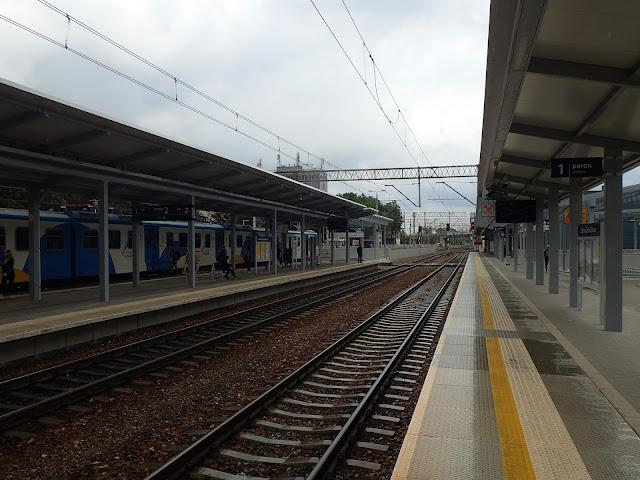 Zielonogórski dworzec kolejowy