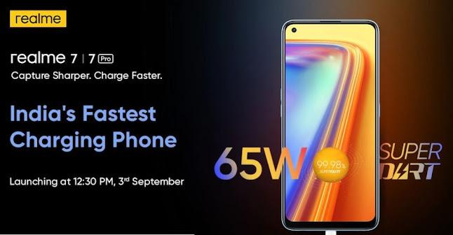 Realme 7 Pro-India's Fastest Charging Smartphone