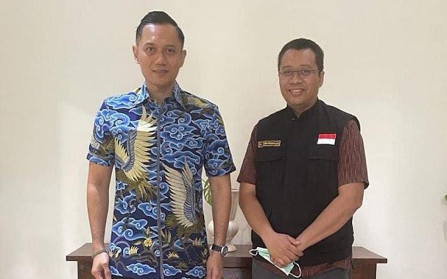 Gubenur NTB Kunjungi SBY di Cikeas, Netizen Ribut Pasangkan Agus-Zul di Pilpres 2024