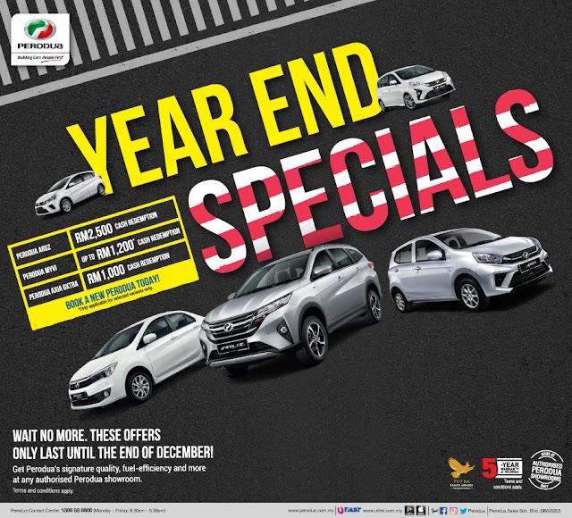Promosi Perodua Hujung Tahun, Disember 2019