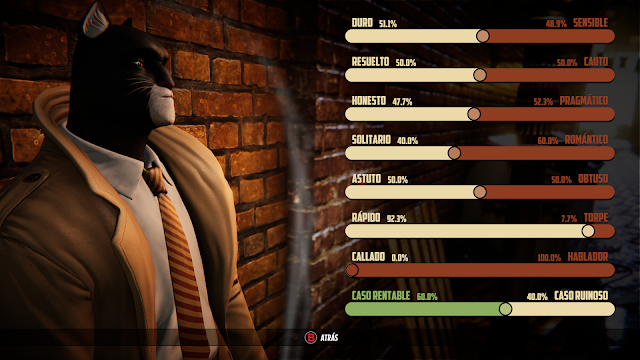 Análisis Blacksad Under the Skin para Steam
