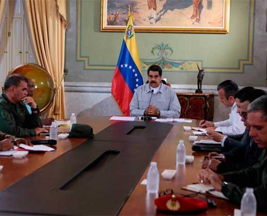 """Maduro presentó """"supuestas pruebas de conspiración"""" y señaló a PJ como culpables de la violencia"""