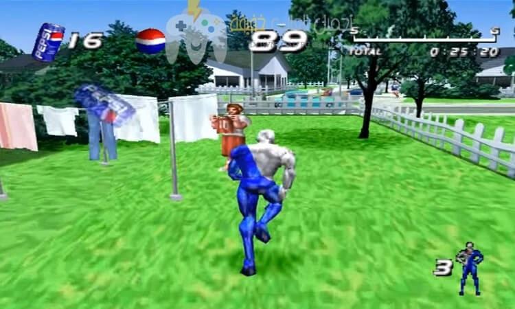 تحميل لعبة بيبسي مان Pepsi Man للكمبيوتر مجاناً من ميديا فاير