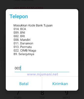 gangguan sms banking