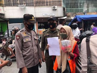 Polres Pelabuhan Makassar Terus Tingkatkan Pengawasan Protokol Kesehatan