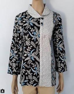 Model Baju Batik Dinas Guru