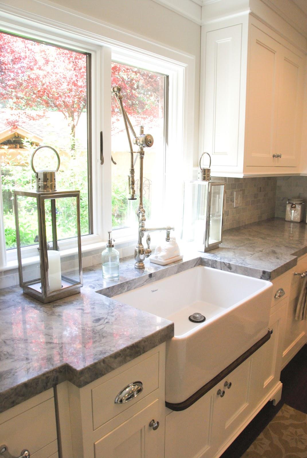 The Granite Gurus: Our 6 Most Popular Countertop Colors in ... on Farmhouse Granite Countertops  id=93689